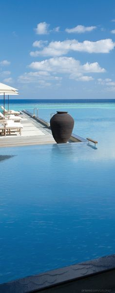 Four Seasons Giravaru, Maldives. (There are two four seasons in Maldives) Oh The Places You'll Go, Places To Travel, Travel Destinations, Places To Visit, Hotels And Resorts, Best Hotels, Beach Resorts, Dream Vacations, Vacation Spots