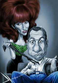 Al and Peggy Bundy • Married with Children