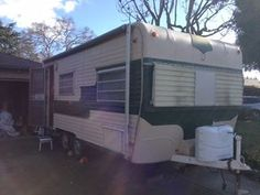 1969 Oasis Travel Trailer 22ft Fully Self Contained. Tandem Wheels and Trailer Breaks.  If you are attending Boot Camp through Vintage Camper Trailers Magazine in March this would be a great project to take home with you. It is located in Hollister, CA. #vintagetraveltrailers