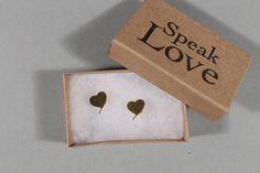 Speak Love Earrings