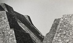 Brutal constellation … Josef Albers took this picture of the great pyramids of Tenayuca around 1940.
