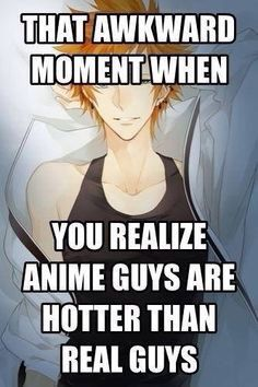Anime boys why aren't you real?* Hardship we face as an Otaku ❤️ Otaku Anime, Me Anime, Hot Anime Guys, Anime Life, I Love Anime, Manga Anime, Anime Boys, Anime Stuff, Anime Music