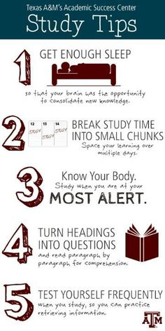 Study Tips for successful students #education #studytips