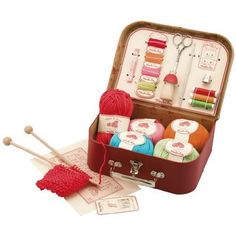 Moulin Roty child's sewing kit