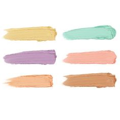 Gorgeous pastel colors from our Color Correcting Palette to help cover any imperfections.