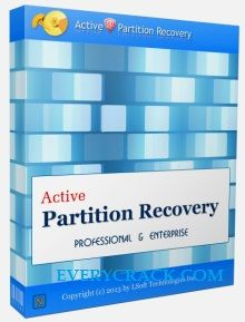 Active Partition Recovery Crack Plus Serial Pro Full Download is best and special Windows recovery software taht enable you to recover data.
