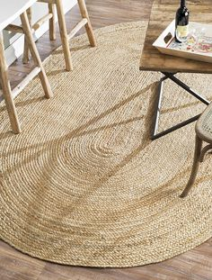 Nuloom Rigo Jute X Area Rug In Natural - Infuse simple texture into your living space with the Rigo Jute Rug from nuLOOM. This hand woven rug is made of jute, offering a perfect neutral background to complement your furniture and décor. Oval Rugs, Round Rugs, Natural Area Rugs, Natural Rug, Natural Carpet, Natural Fiber Rugs, Natural Brown, Jute Rug, Woven Rug
