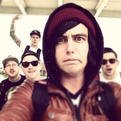 Sleeping With Sirens my new obsession :3 Well, along with BMTH, PTV, and MM (Of Mice and Men)