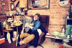Zoe Sugg and Tyler Oakley