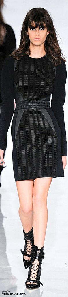London Fashion Week Antonio Berardi Fall 2014 | The House of Beccaria~