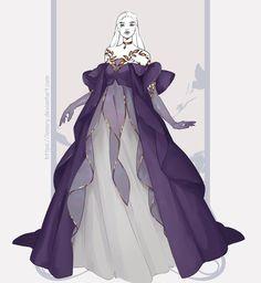 Fantasy Character Design, Character Design Inspiration, Pretty Dresses, Beautiful Dresses, Dress Design Drawing, Fantasy Gowns, Anime Dress, Dress Sketches, Fashion Design Drawings