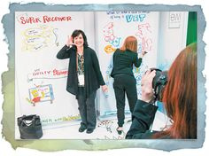 Drawing a Crowd - Drawings and personal stories.   - EXHIBITOR magazine  Great Personal Follow up tactics