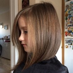 50 Cute Haircuts for Girls to Put You on Center Stage - Bob With Long Face-Framing Pieces - Tween Girl Haircuts, Girls Haircuts With Layers, Girls Short Haircuts Kids, Haircuts For Long Hair, Long Hair Cuts, Bob Hairstyles, Natural Hairstyles, Haircuts For Little Girls, Hair Cuts For Girls