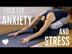 Yoga For Anxiety and Stress | Yoga With Adriene | Bloglovin'