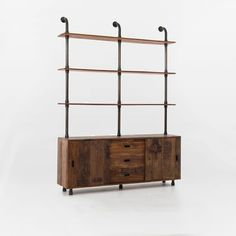 Reclaimed Pine Wall Storage Console | west elm