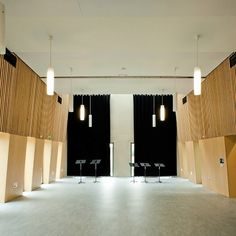 Practice Room Decoration Dynamic And Contemporary School Of Music Architecture