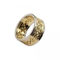 Boyne Filligree Wedding Ring-14K Gold Rings For Men, Fine Jewelry, Wedding Rings, Engagement Rings, Toys, Videos, Men Rings, Commitment Rings, Toy