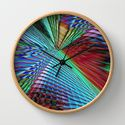wall clock multicolored abstract no. 41 by Christine Bässler  http://society6.com/product/multicolored-abstract-no-41_print?curator=christinebssler