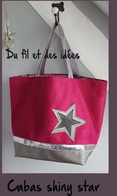 high quality suede tote bag and glitter - Coin Couture, Couture Sewing, Diy Bags Purses, Diy Purse, Diy Sac, Sacs Diy, Sac Vanessa Bruno, Purse Organization, Bag Patterns To Sew