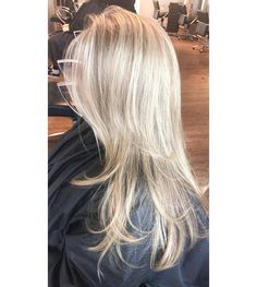 Icy blonde by INTERLOCKS Associate Stylist Stacey D.