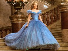 Cinderella's Ball Gown: It's <em>All</em> About That Dress! (And - Surprise! - There Are Batteries Involved) http://stylenews.peoplestylewatch.com/2015/03/13/cinderella-costume-designer-sandy-powell-ball-gown-interview/