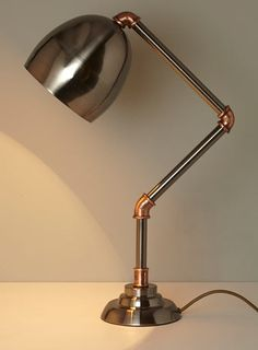 Hugo piped task lamp - Shop the Feature - Vintage Curiosity  - Home, Lighting & Furniture
