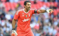 Download wallpapers Gianluigi Buffon, 4k, footballers, Juventus, goalkeeper, Italy, Serie A, Juve