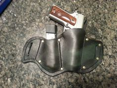 1911 & extra mag Pancake Holster. My hand made by BIGOBROSLLC