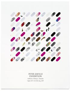Design by Peter Saville 2011