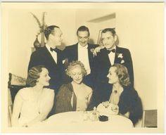 Carole Lombard and Marlene 1930s