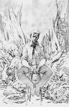 Hellblazer cover | Jim Lee