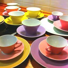 Lilien Daisy Tea Sets, Cheers, Tea Party, Beautiful Things, Daisy, Cups, China, Ceramics, Tableware