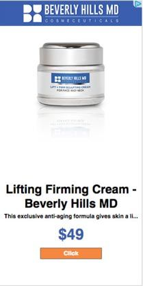 Beverly Hills Md Lifting And Firming Cream