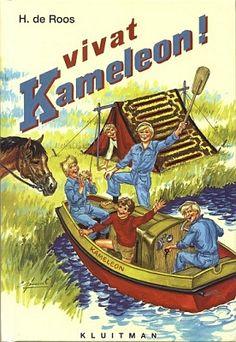 Vivat Kameleon (nr 12 - 1961)  Geschreven door Hotze de Roos  Illustraties: Gerard van Straaten