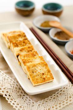 Salt and Pepper Tofu Steak   omnivorescookbook.com