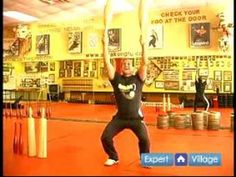 Indian Club Fitness Training : The Squat Snatch Move in Indian Club Fitness Exercise Training - YouTube