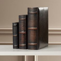 Found it at Wayfair - Torrence 3 Piece Library Book Decorative Object Set
