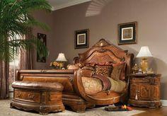 King size bedroom furniture sets ashley furniture cal king bedroom sets home delightful Bedroom Furniture Sets, Bedroom Sets, Home Furniture, Furniture Design, Furniture Vintage, Wooden Furniture, Furniture Ideas, Furniture Online, Bedding Sets
