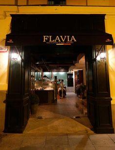FLAVIA. Italianiano, con menú para celiacos. C/ GIL DE SANTIVAÑEZ, 2 (esquina con C/Serrano)
