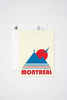 Art prints, post cards and greeting cards inspired by the city of Montreal! Of Montreal, Vintage Postcards, Stationery, Greeting Cards, Art Prints, Post Card, Collection, Urban Landscape, Paper Mill