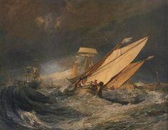 Joseph Mallord William Turner. 1803. Fishing Boats Entering Cal.