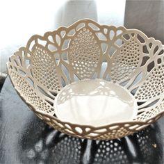 fruit lace_bowl #cerámica #resulabrador.com