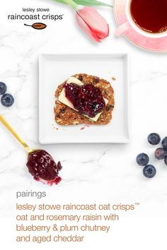 blueberry and plum chutney Vegan Gluten Free, Vegan Vegetarian, Cheddar, Plum Chutney, Prune, Pork Dishes, Summer Salads, Blueberry, Side Dishes