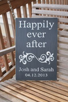 Custom Wedding Sign Personalized Anniversary by PreciousMiracles, $25.00
