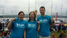 #Thankyou so much to Fiona, Chris and Alex who undertook the Great North Swim on June 12, raising £900!