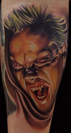 Lost boys portrait tattoo : Cry little sister, come to your brother!