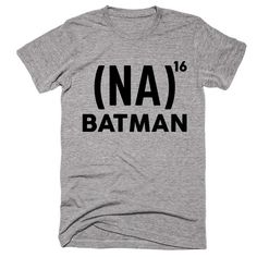 (NA) 16 times  Batman T-shirt