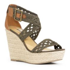 To me Sage Green & Beige will rock your world in these wedges.