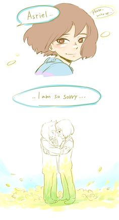 Frisk Asriel, and Chara