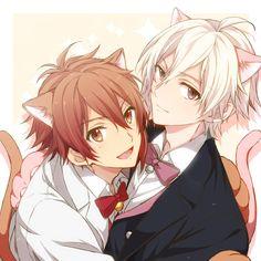 Idolish7 Riku and Sogo